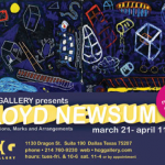 Floyd Newsum: Exhibition and Reception at HCG Gallery