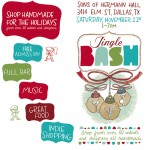 Etsy Dallas Jingle Bash - Shop local for the Holidays