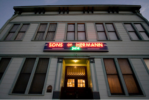 Sons of Hermann Hall by David Wilson | http://davidwilsonphoto.com/