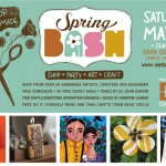 Shop Handmade. Shop Local. Etsy Dallas Spring Bash.