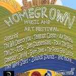 Homegrown Music and Arts Festival at Main Street Garden