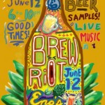 Annual Home Brew Riot Festival in Bishop Arts District