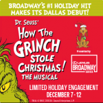Grinch Brings Christmas Cheer to the Dallas Winspear Opera House