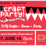 2011 Etsy Craft Party - DIY Crafts, Booze & Party
