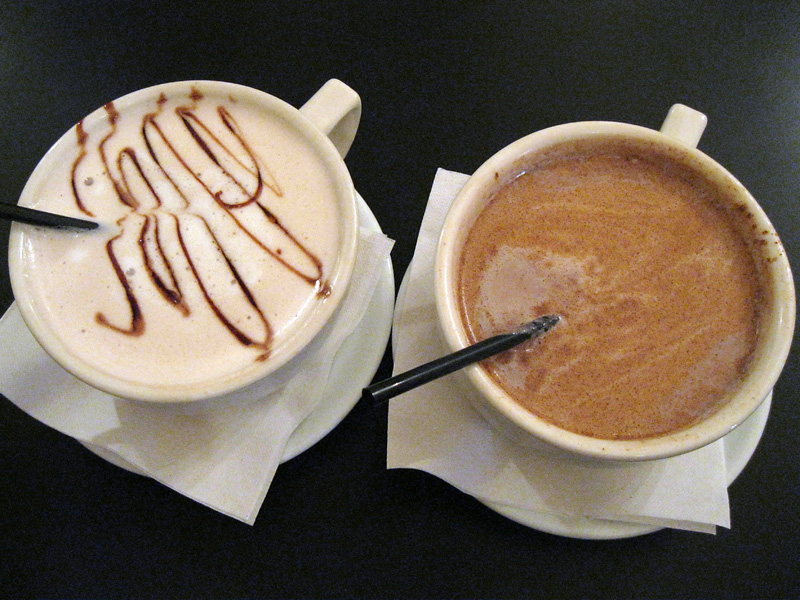 Bread Winners Hot Chocolate