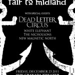 Get Your Tickets for Tonight  - ETO Presents Fair to Midland at the Granada Theater