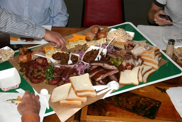 Things to Do in Dallas for Men Lockhart's Shiner Platter