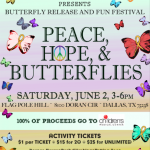 Peace, Hope, and Butterflies 2012 Festival Benefitting Children's Medical Center