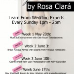 Wedding 101 Series to be Taught at Bridal Boutique Rosa Clara Dallas Beginning this Sunday