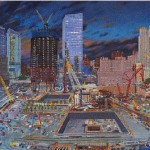 Dallas Artist Completes Magnum Opus of the World Trade Center Under Reconstruction