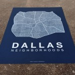 An Artistic Rendering of Dallas Neighborhoods