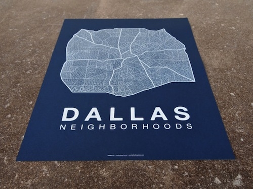 Dallas Map, David Harman