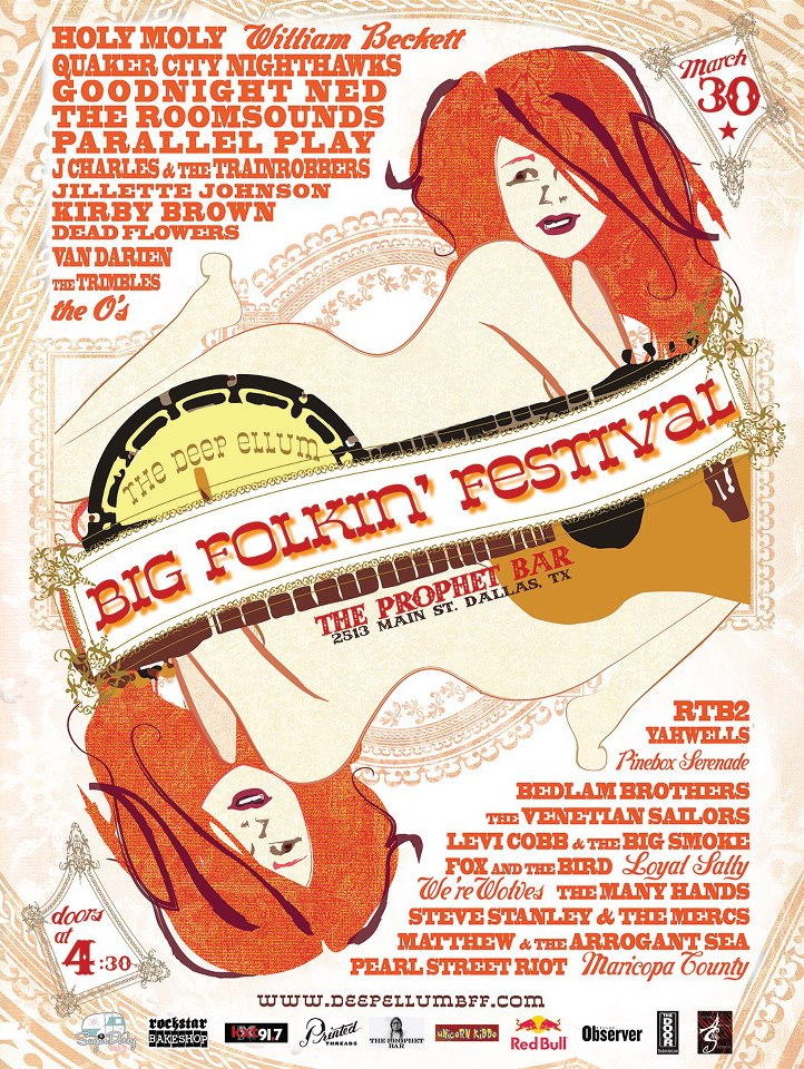 Deep Ellum Dallas Big Folkin' Festival 2013