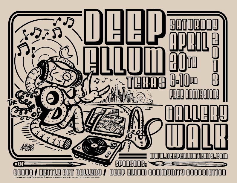 Deep Ellum Gallery Walk 2013