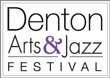 Denton Arts and Jazz Festival-2013 logo