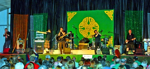 Scene from the North Texas Irish Festival 2013.