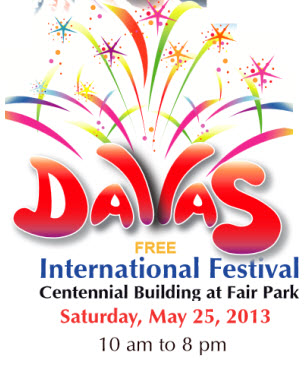 Dallas International  Festival 2013 Logo