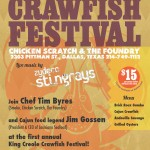 All-You-Can-Eat Crawfish (and more) This Weekend at Salute to King Creole Crawfish Festival