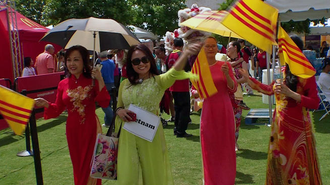 Th Annual Asian Culture Festival Visits Homestead Fruit.