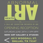 Nerv Gallery Presents Abnormal Artbeats