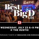 The Best of Big D LIVE Happens Tomorrow Night