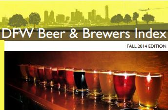 DFW Beer And Brewers Index Guide Image