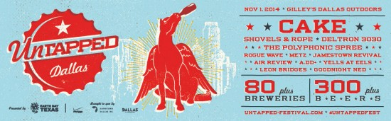 Untapped Dallas 2014 Happens Saturday, Nov. 1 - Find out What's New & Different