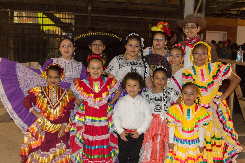 The students of Anita N. Martinez Ballet Folkloric this years Art Con beneficiary at Art Con X November 15th 2014. Photo by: Mason Pelt