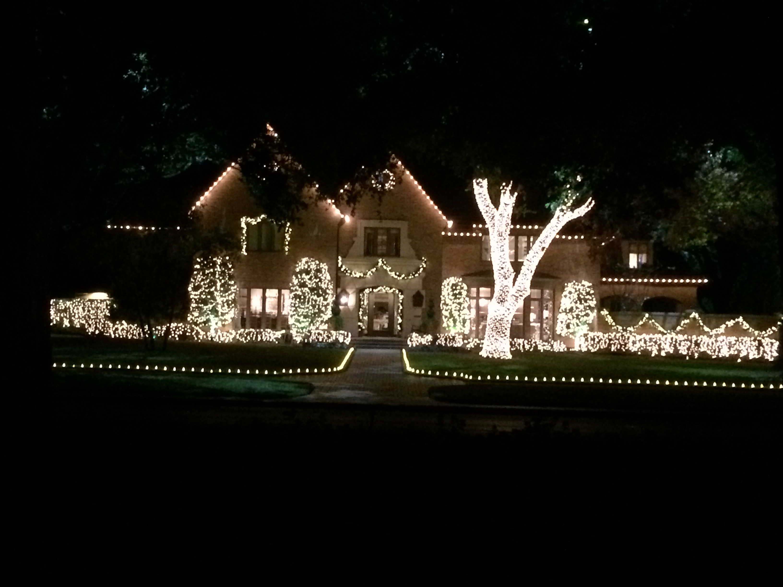 Highland Park Christmas House