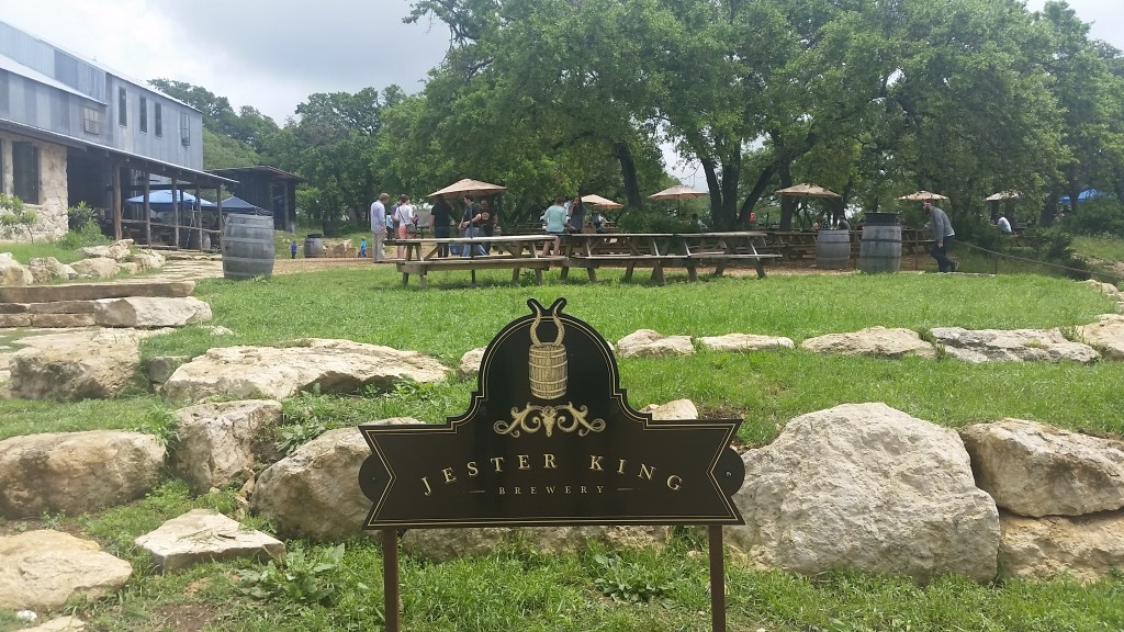 Jester King is known for the wild fermentation techniques, brewing with yeast and bacteria found naturally in the Texas Hill Country