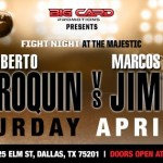 Take in Fight Night at the Majestic Theatre on April 25