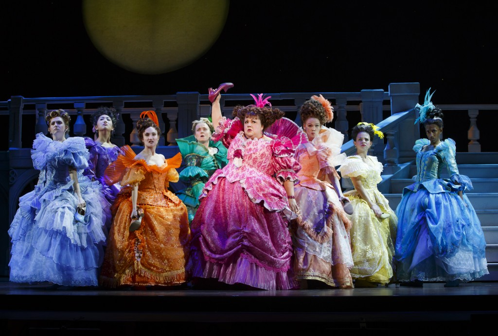 Photo Credit - 3 The Cast of the National Tour of Rodgers + Hammerstein's Cinderella. Photo © Carol Rosegg.