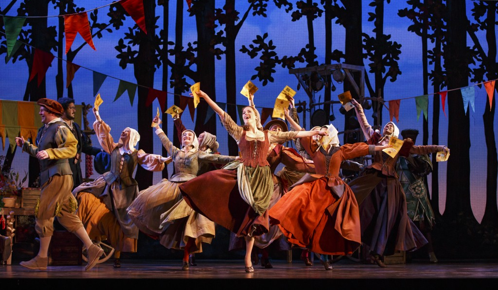 Photo Credit - The Cast of the National Tour of Rodgers + Hammerstein's Cinderella. Photo © Carol Rosegg.