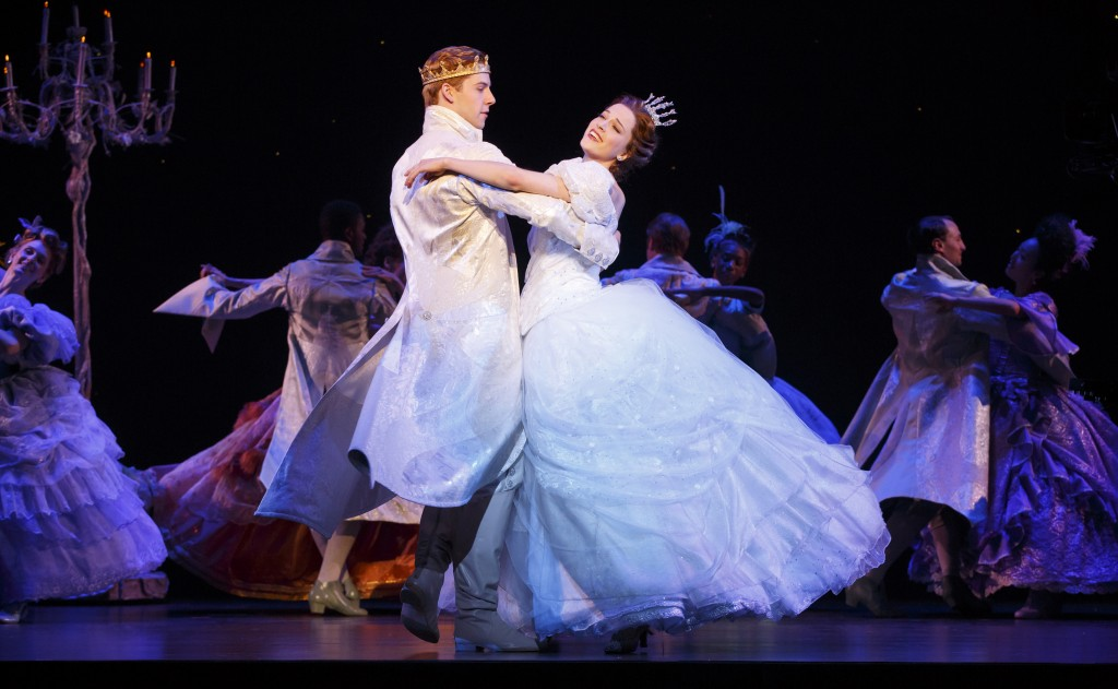 Photo Credit - Andy Jones & Paige Faure in the National Tour of Rodgers + Hammerstein's Cinderella. Photo © Carol Rosegg