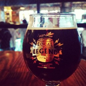 Deep Ellum Brewing Company and Jameson Whiskey's collaboration beer, Local Legend