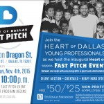 Heart of Dallas Fast Pitch to Award $100K in Grant Money to DFW Nonprofits!