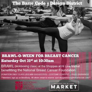 Brawl-o-ween for Breast Cancer