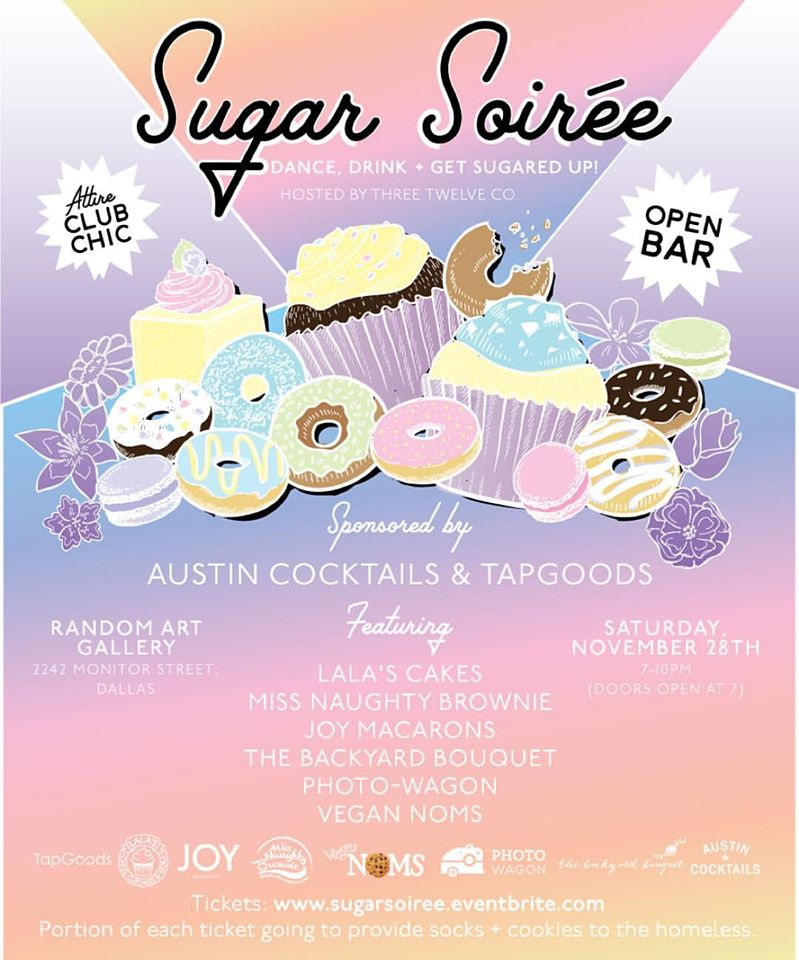 Sugar Soirée This Saturday!