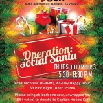 Operation: Social Santa event to benefit homeless DFW children