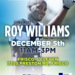 BLUESTARgives Invites You To Meet Roy Williams