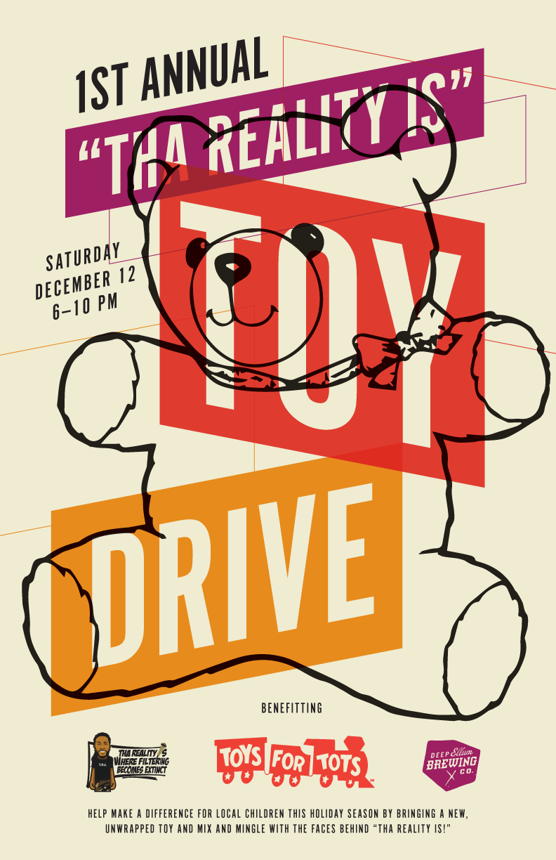 Toys For Tots Promotional Posters : Toys for tots drive deep ellum brewing co i live in