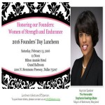 ALPHA KAPPA ALPHA SORORITY, INC®, ALPHA XI OMEGA CHAPTER CELEBRATES FOUNDERS' DAY
