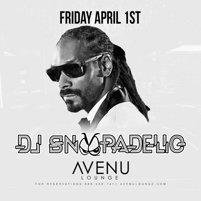 Snoop Dogg At Avenu Lounge