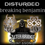 Disturbed and Breaking Benjamin Head To Dallas