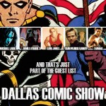 Dallas Comic Show