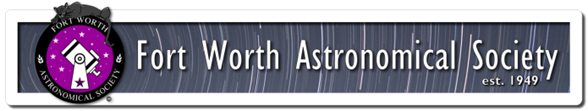 fort worth astronomical society logo