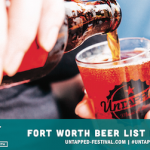 Untapped Festival Fort Worth Announces Beer List
