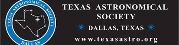texas astronomical society logo
