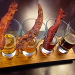 Draft Media Sports Lounge pairs Bacon and Beer for the ultimate flight!