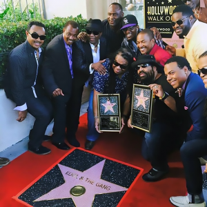 Sir Earl Toon hollywood walk of fame kool and the gang